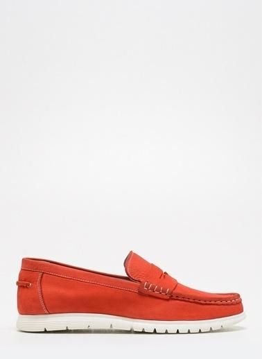 D by Divarese Deri Ayakkabı Kırmızı